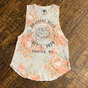 Urban Outfitters | DOE Grateful Dead Floral Tee
